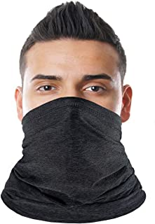 Achiou Neck Gaiter Summer Face Scarf Mask-Dust, Sun Protection Thin Windproof, Breathable Fishing Running Cycling Cool