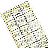 WINTEX Patchwork Lineal – Schneidelineal 15x60 cm, mit cm-Raster und Winkelanzeige – Rollschneider-Lineal, Nählineal, Schneidelineal – ideal zum Nähen und Basteln