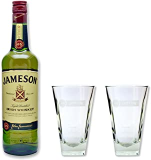 Jameson Irish Whiskey 40% 0,7l  2 Gläser 2cl/4cl