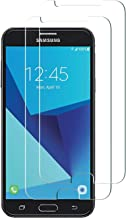 Galaxy J7 Prime Screen Protector 2 Pack Tempered Glass Screen Protector Galaxy J7 (2017) J7 V J7 Perx