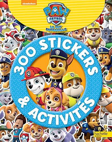 Paw Patrol-La Pat Patrouille - 300 stickers et activités