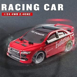 Leslaur RC Drift Car 1/24 2.4G 4WD Sport Buggy RC Racing Car Regalo de cumpleaños para niño niño Chico