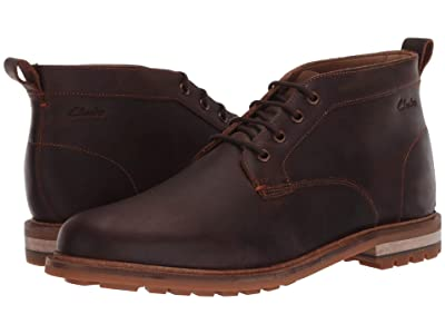 Clarks Foxwell Mid (Beeswax Leather) Men