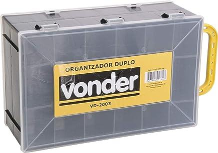 Organizador Plástico Duplo VD 2003, Vonder VDO2682