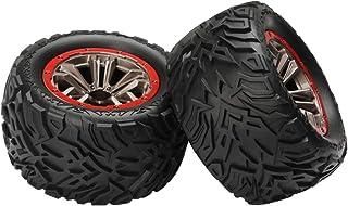 HOSIM RC Car Tires Accessory Spare Parts Wheels 56-ZJ02 for Hosim 9155 9156 RC Car (2 PCS)