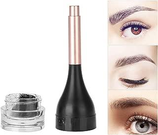 Eyebrow Extensions, Waterproof Brow Extension Hair Fiber Long Lasting Gel for 3D Brow Precise Eyebrow Filler Makeup Building Powder(02#)
