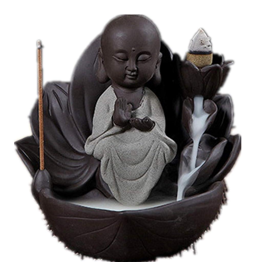 プライバシー代わりのモディッシュXPPXPP Backflow Incense Burner, Household Ceramic Returning Cone-shaped Candlestick Burner