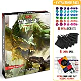 Dungeons and Dragons 5th Edition Starter Set with DND Dice and Complete Printable Starter Kit - Popular DND Rolling Board Game Fifth Edition - D&D 5e Beginner Gift Set - Adult Magic Pack