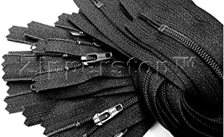 Black YKK 5CL Coil Jacket Zipper 26in
