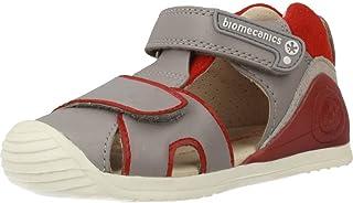 c2e010e2971 Biomecanics Sandalias con Velcro Primeros Pasos Biogateo 182151B Gris/Rojo