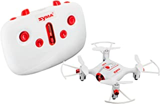 Tenergy Syma X20 Mini Drone Headless Quadcopter RC Drone with Altitude Hold One-key 360 Degree Stunt Move Pocket Drone Easy to Fly Drone for Beginner (White)