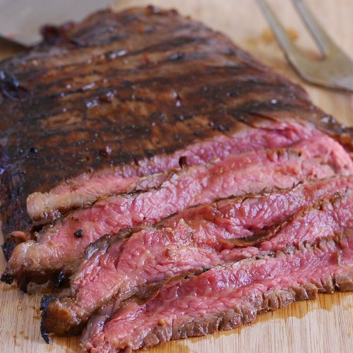 Grass Fed Beef Flank Steaks - 2 Pieces, 2.25 Lbs...