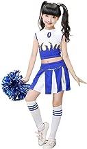 cheerleader costume blue and yellow