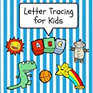 Letter Tracing for Kids: Practice Tracing Letters and Alphabet, Ages 3-5, Preschool, Sky Blue (ABC Learning for Toddlers,...
