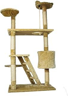Fancypets FL8459 Mueble para Gato con Casa y Escalera, 158