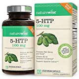 NatureWise 5-HTP 100mg | Natural Mood & Sleep Support | Curbs Appetite to...