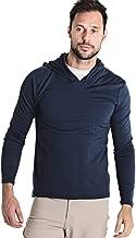 OLIVERS Apparel, Mens Merino Wool Performance Porter Hoodie. Odor Resistant, Water Repellent, and Temperature Regulating