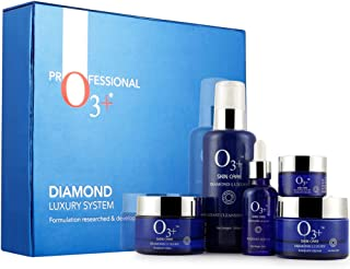 O3+ Diamond Luxury System Facial Kit for Bridal Makeup and Ultra Glow Treatments - Perfect for All Skin Type to Increase Shine and Glow on Face