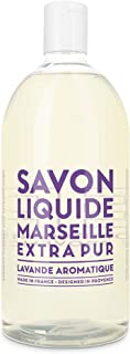 Compagnie de Provence Savon de Marseille Extra Pure Liquid Soap - Aromatic Lavender - 33.8 fl oz Plastic Bottle Refill