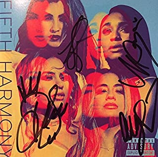 NEW : Fifth Harmony Signed CD Booklet Signed by all 4 Members