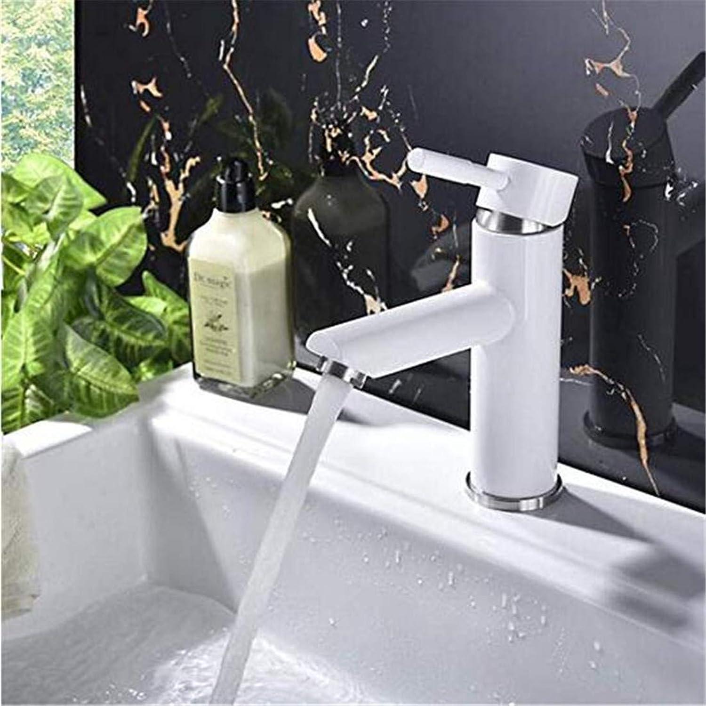 Modern Hei Und Kalt Wasserhahn Vintage überzugarmaturen Beckenmischer Edelstahl Becken Wasserhahn Sprühfarbe Wasserhahn