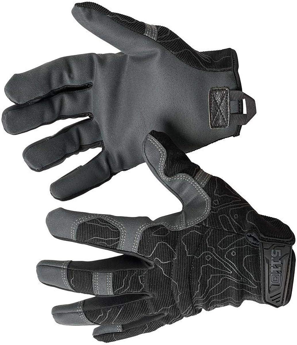 Bombing free shipping 5.11 High Abrasion Tac Japan Maker New Glove Finger Men's Full Abr Military
