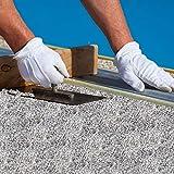 Komplett-Set Home Profis® HPST-2000 Steinteppich Bianco Carrara 7,2m² (75kg Marmorkies + 4,5kg Bindemittel) Epoxidharz Bindemittel, Steinboden, Kiesboden, Kieselboden