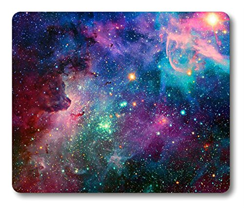 Galaxy Mouse Pad by Smooffly,Mouse Pad Galaxy Customized Rectangle Non-Slip Rubber Mousepad Gaming Mouse Pad