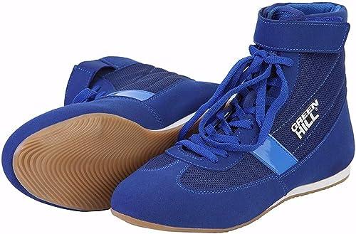 Grün Hill Boxing schuhe Short ( Blau , 43 )