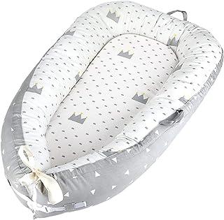 comprar comparacion Luchild Nido Bebé Recién Nacido, Reductor de Cuna Nidos, Cama cana nido de viaje Doble Caras para bebe dormir