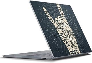 igsticker Surface Laptop3 15インチ 専用スキンシール Microsoft サーフェス ラップトップ カバー フィルム ステッカー アクセサリー 保護 010416 英語 手 タトゥー