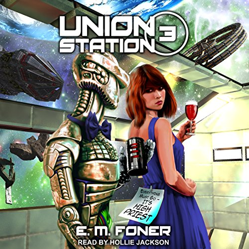 High Priest on Union Station audiobook cover art