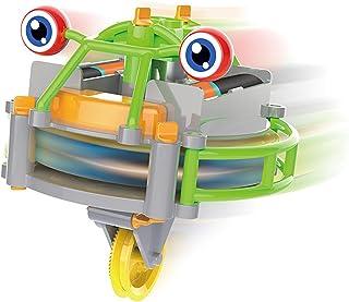 KongLyle Tightrope promenader skottkärra leksak elektrisk balans bil lysande tumlare skottkärra leksak barns tävling leksak