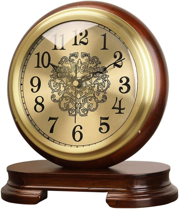 OMIDM Table Clock Small Chinese Bra Wood Brand new Style Solid Ranking integrated 1st place