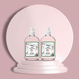 Mirah Belle - Rose Mulberry Dry Skin Body Wash (Pack of 2) - Sulfate & Paraben Free - For Dry, Dehydrated, Rough Skin. Mak...