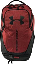 Under Armour Hustle 3.0 Backpack, Red (611)/Black, One Size