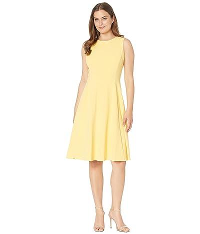 LAUREN Ralph Lauren Crepe Fit-and-Flare Dress