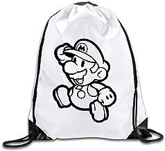 BENZIMM Paper Mario Drawstring Backpacks/Bags