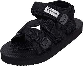 LUFFYMOMO Athletic Sandals for Men Sport Adjustable Strap Summer Sandals