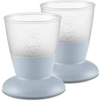 BABYBJÖRN Baby Cup2 Peice Pack, Powder Blue