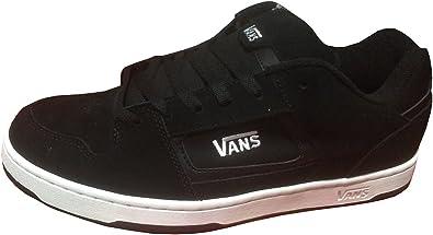 Vans Hombres Docket Skate Suede Cuero Logo Zapatos