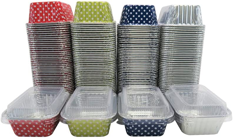 KitchenDance Disposable Aluminum Branded goods Mini 6 L Sized ounce Individual 2021 spring and summer new
