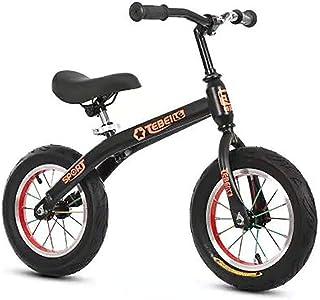 "Nfudishpu Kids Balance Bike, No Pedal Baby Mini Bike, Ride on Scooter, 12"" Bicycle for Children Riding Toy Baby Walker Pus..."