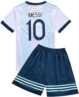 FFF Copa Mundial de Fútbol/Casa Argentina Jersey/Argentina 2018 Home Football Jerseys Niños Fútbol Entrenamiento Ropa Camiseta Camiseta/Tamaño Estándar