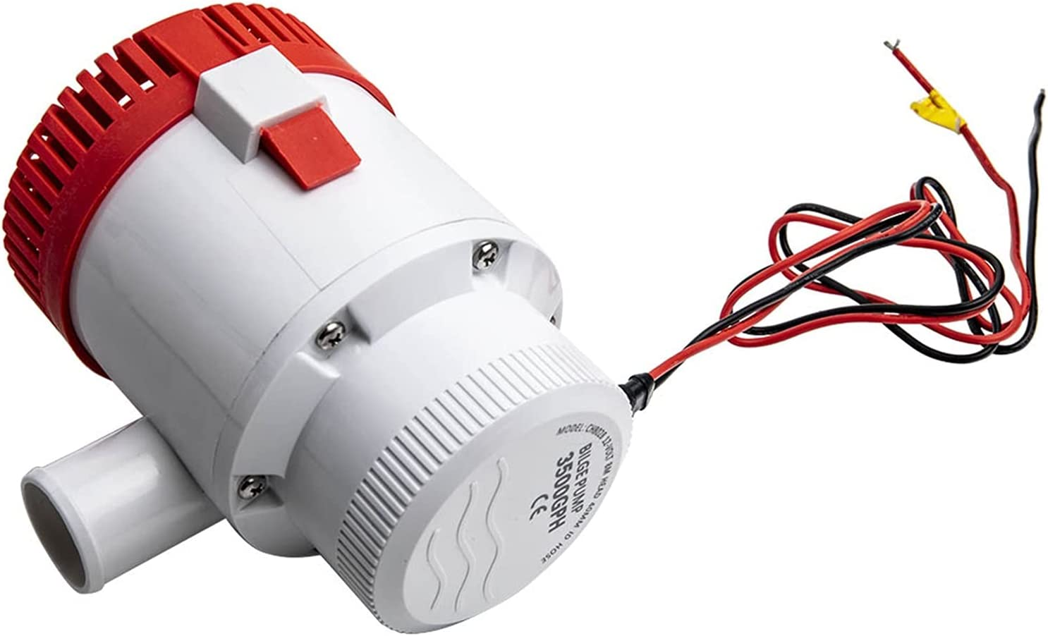 Yi-Achieve 12V Milwaukee Mall 3500 GPH Boat Submersible Electric Bilge Mar Manufacturer OFFicial shop Pump