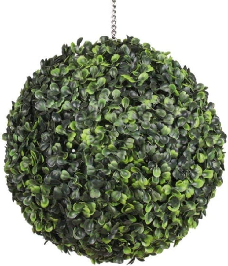 OOKi-Artificial Boxwood Ball 正規認証品!新規格 Topiary 贈答 Lifelike Half Round Plants