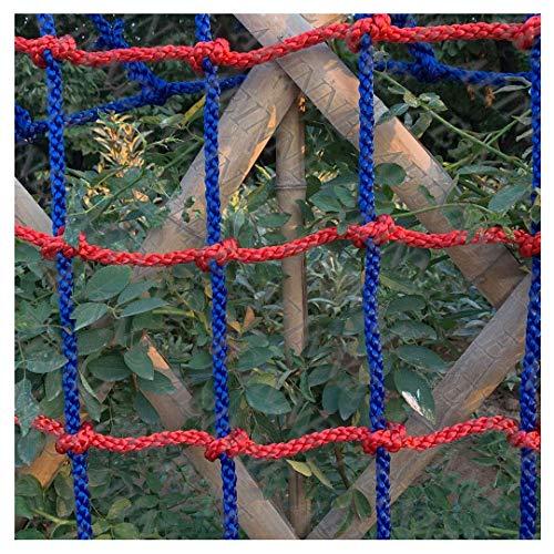 Red para árboles, red de escalada red de escalada parque de juegos de nailon cuerda de roca malla de enrejado Swingset Playset set de columpio seguridad cabaña en el árbol al aire libre Gran carga R