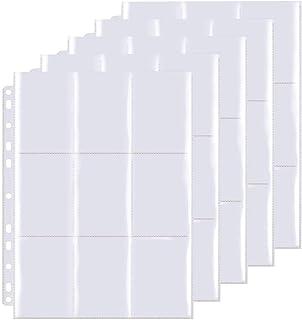 Pokemon Pochettes pour Cartes,540 Pochettes pour Cartes, Portefeuilles Collectionner avec Poches des Deux côtés, Trading C...