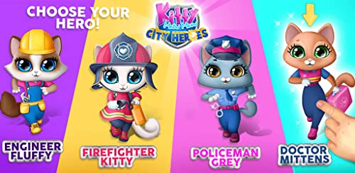 『Kitty Meow Meow City Heroes - The Brave and the Fluffy! Cats to the Rescue!』の1枚目の画像