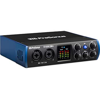 Interfaz de audio PreSonus (Studio 24c)